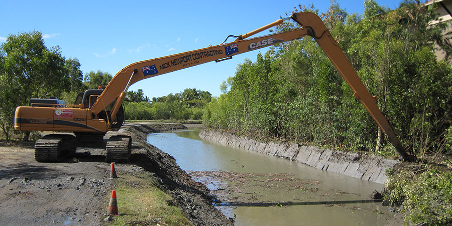 Cairns waterways clearing