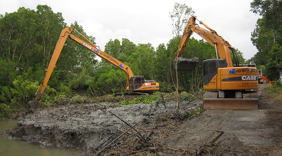 Cairns earthmoving services