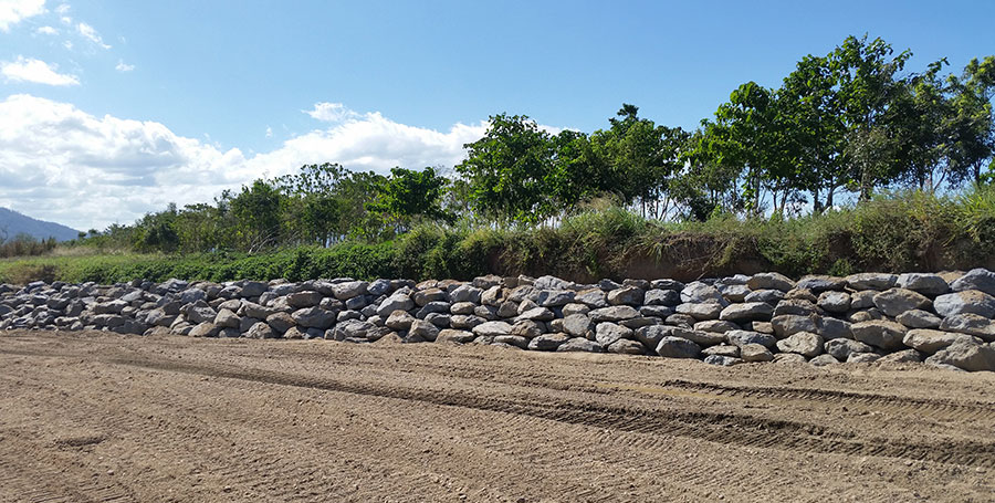 creek stabilisation