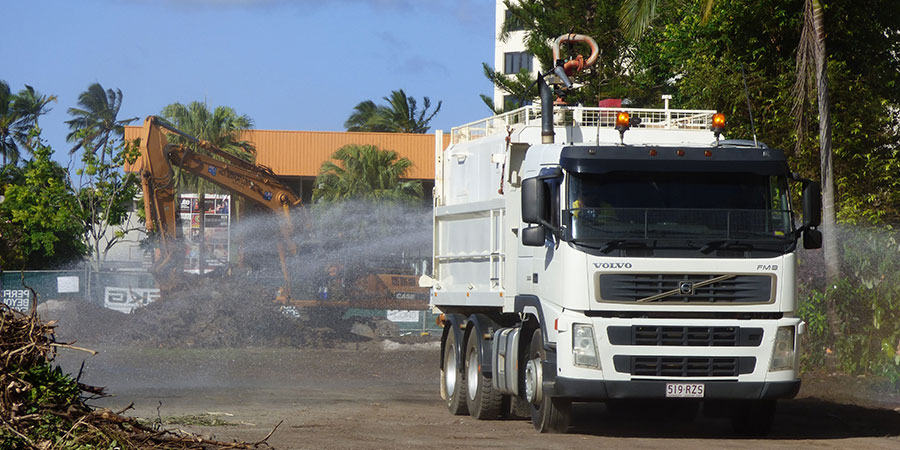 cairns water truck hire